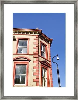 Scottish Building Framed Print by Tom Gowanlock
