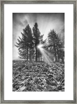 Framed Print featuring the photograph Scottish Sunrise by Jeremy Lavender Photography