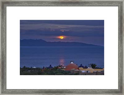 Sea Of Cortez Framed Print by Christian Heeb