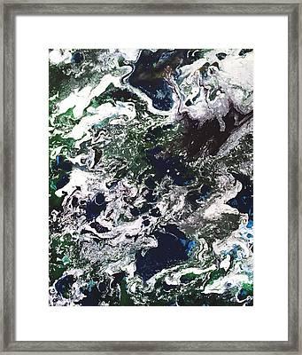 Space Odyssey 2 Framed Print