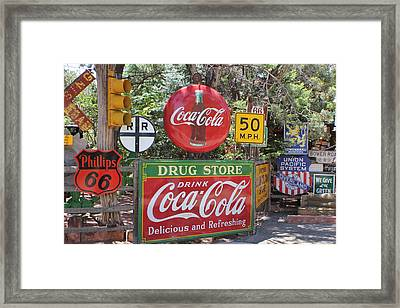Sedona Signs Framed Print