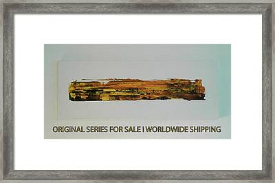 Series Abstract Worlds Only Originals For Sale Worldwide Shipping Framed Print