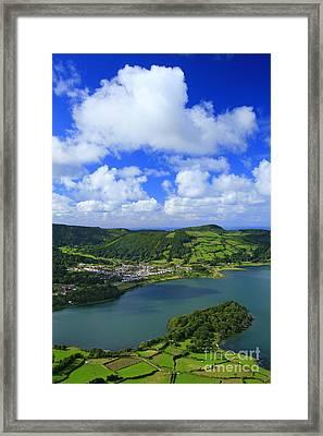 Sete Cidades - Azores Framed Print by Gaspar Avila