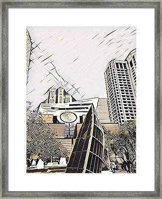 Sf Moma Framed Print