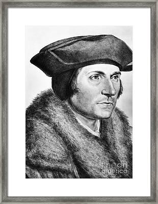 Sir Thomas More (1478-1535) Framed Print by Granger