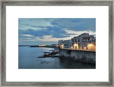 Siracusa - Sicily Framed Print by Joana Kruse