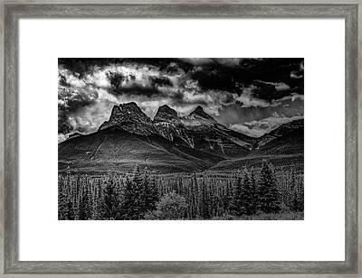 3 Sisters Framed Print