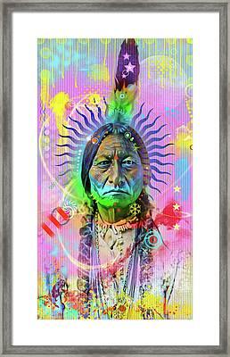 Sitting Bull Framed Print