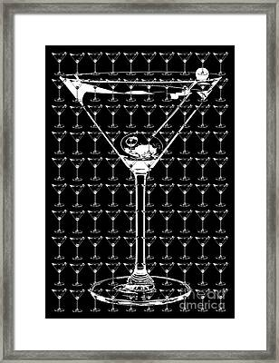 So Many Martinis So Little Time Framed Print by Jon Neidert