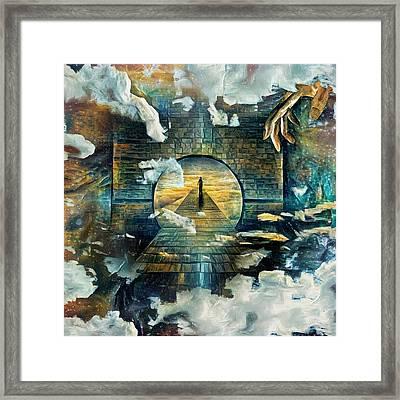 Soul Journey Framed Print