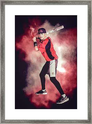 Southwest Aztecs Baseball Organization Framed Print by Nicholas Grunas