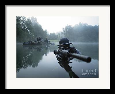 Special Forces Framed Prints