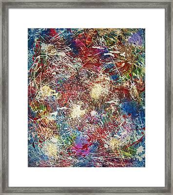 Splash Framed Print by HollyWood Creation By linda zanini