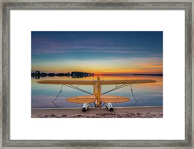 Splash-in Sunrise  Framed Print