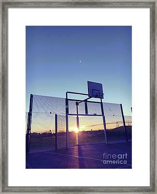 Sportsground Framed Print