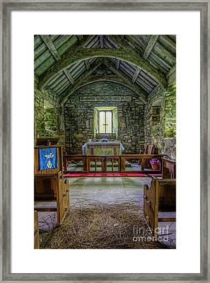 St Beunos Church Framed Print by Ian Mitchell