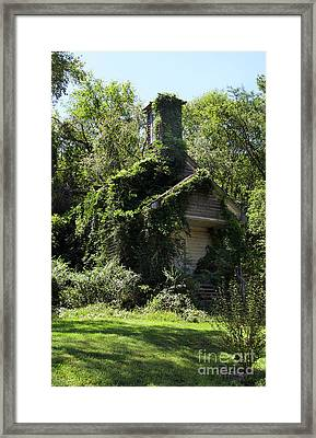 St. Simons Church Revisited Framed Print by Skip Willits