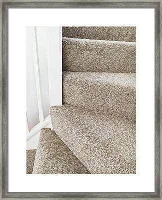 Staircase Framed Print by Tom Gowanlock