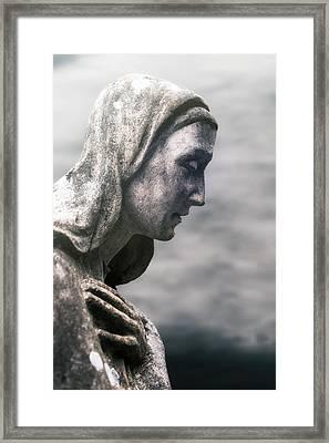 Statue Framed Print by Joana Kruse