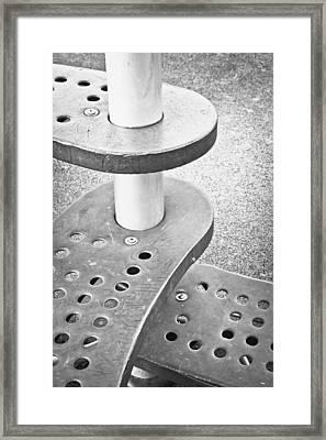 Steps Framed Print by Tom Gowanlock