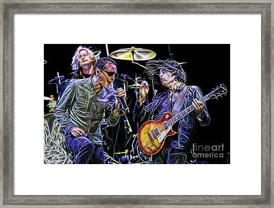 Stone Temple Pilots Collection Framed Print by Marvin Blaine