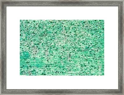 Stone Texture Framed Print by Tom Gowanlock