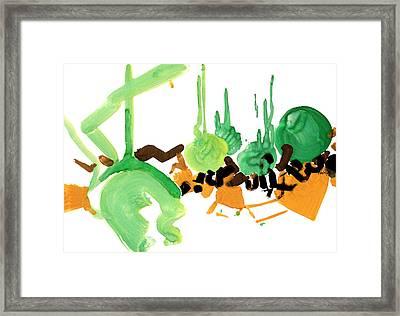 Stylish Framed Print by Natoly Art