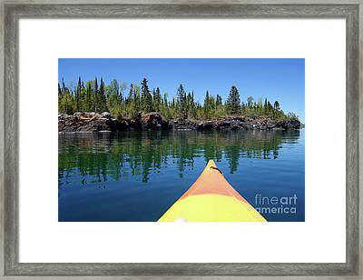 Superior Reflections Framed Print by Sandra Updyke
