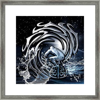 Surf's Up Collection Framed Print by Marvin Blaine