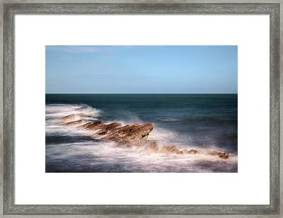 Swanage - England Framed Print