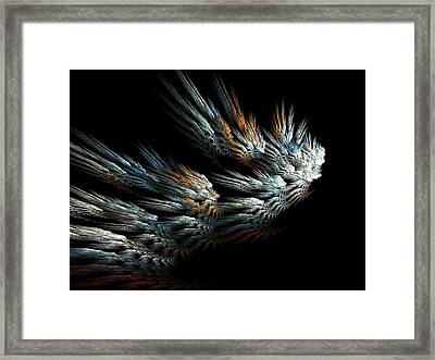 Taking Wing Framed Print