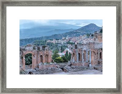 Taormina - Sicily Framed Print