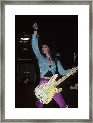 Teeze Framed Print by Rich Fuscia