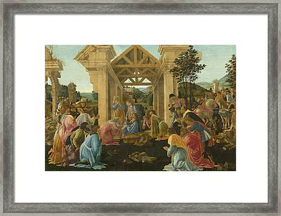 The Adoration Of The Magi Framed Print by Mountain Dreams