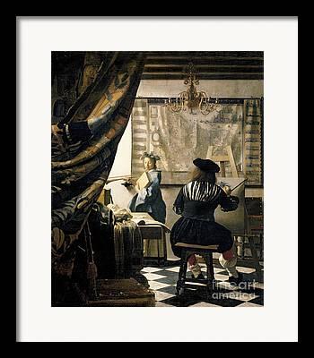 Artiste Framed Prints