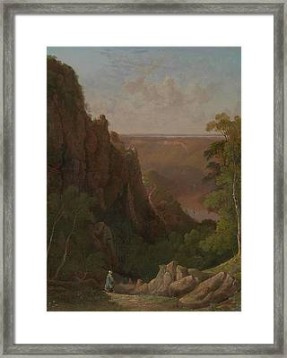 The Avon Gorge Framed Print by Francis Danby