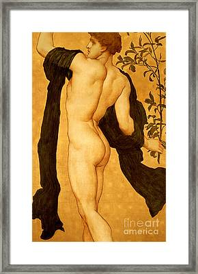 The Dance Of The Cymbalists Framed Print