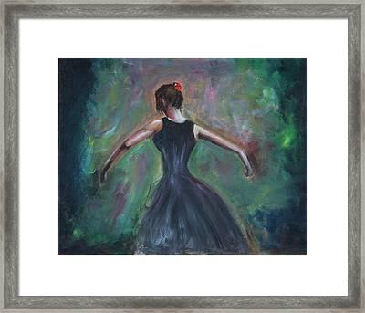 The Dancer Framed Print by Taly Bar