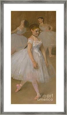 The Dancing Class Framed Print