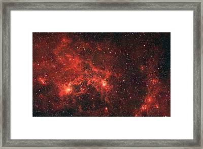 The Dragon Fish Nebula Framed Print