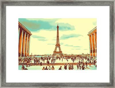 The Eiffel Tower Framed Print