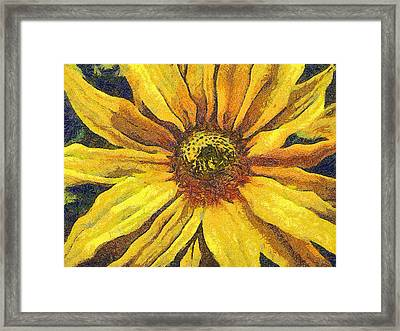 The Flower Framed Print by Odon Czintos