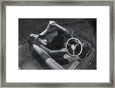 Framed Print featuring the photograph  Girl #3253  by Andrey  Godyaykin