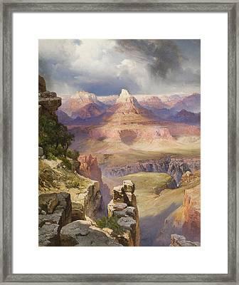 The Grand Canyon Framed Print by Thomas Moran