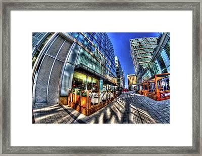 The Hub Milton Keynes Framed Print by KonTrasts