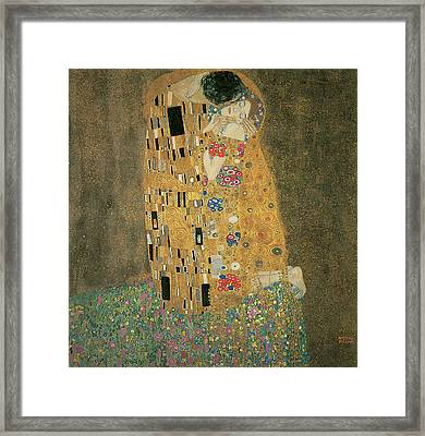 The Kiss Framed Print