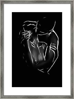 The Kiss Framed Print by Steve K