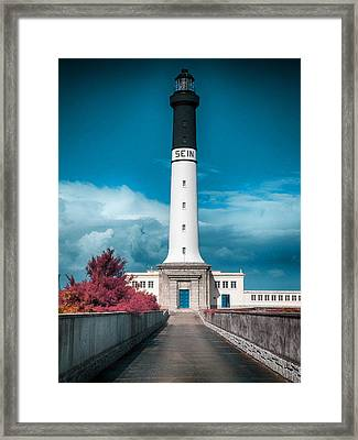 The Lighthouse Framed Print by Artistic Panda