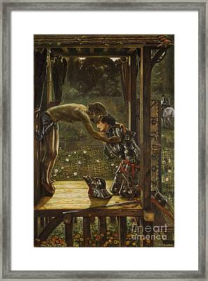The Merciful Knight Framed Print by Celestial Images