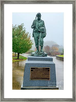 The National D-day Memorial Framed Print
